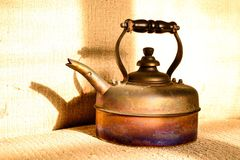 Κατσαρόλα καφέ Στοκ φωτογραφία με δικαίωμα ελεύθερης χρήσης