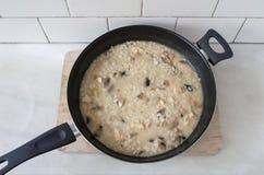 Κατσαρόλλα του risotto Στοκ Εικόνες