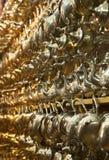 Κατσαρόλες τσαγιού στο παζάρι του Μαρακές Στοκ εικόνα με δικαίωμα ελεύθερης χρήσης