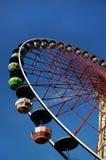 Κατώτατη όψη ροδών Ferris Στοκ φωτογραφία με δικαίωμα ελεύθερης χρήσης