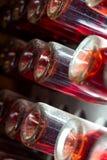 Κατώτατο σημείο των μπουκαλιών κρασιού Στοκ Εικόνες