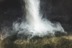 Κατώτατο σημείο των πτώσεων Snoqualmie στην Ουάσιγκτον Στοκ φωτογραφία με δικαίωμα ελεύθερης χρήσης