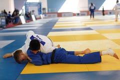 Κατώτερο ευρωπαϊκό φλυτζάνι 2016 τζούντου Στοκ Εικόνες