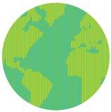 Κατ'ευθείαν γραμμή κόσμος Στοκ εικόνες με δικαίωμα ελεύθερης χρήσης