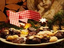 Κατ' οίκον γίνοντα μπισκότα Χριστουγέννων Στοκ Εικόνα