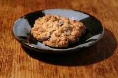 Κατ' οίκον γίνοντα μπισκότο σε ετοιμότητα - γίνοντα πιάτο Στοκ Εικόνες