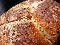 Κατ' οίκον γίνοντα ψωμί με τις βρώμες Στοκ φωτογραφία με δικαίωμα ελεύθερης χρήσης