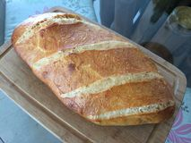 Κατ' οίκον γίνοντα ψωμί φραντζολών μαγιάς Στοκ Εικόνες