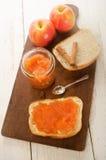 Κατ' οίκον γίνοντα applesauce κανέλας στο ψωμί Στοκ εικόνες με δικαίωμα ελεύθερης χρήσης