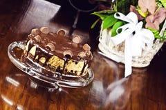 Cheesecake σοκολάτας Στοκ φωτογραφία με δικαίωμα ελεύθερης χρήσης