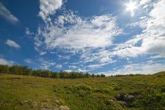Καυκάσια βουνά Στοκ φωτογραφίες με δικαίωμα ελεύθερης χρήσης