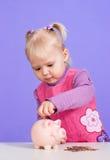καυκάσια γοητευτικά παιχνίδια μωρών μικρά Στοκ Εικόνα