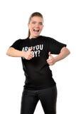 καυκάσια γυναίκα πορτρέτ Στοκ φωτογραφία με δικαίωμα ελεύθερης χρήσης