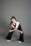 καυκάσια θηλυκή τζαζ χο& Στοκ Φωτογραφίες
