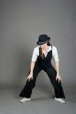 καυκάσια θηλυκή τζαζ χο& Στοκ φωτογραφία με δικαίωμα ελεύθερης χρήσης