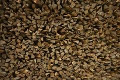 Καυσόξυλο - κομμάτια teak του ξύλου, υπόβαθρο Στοκ φωτογραφίες με δικαίωμα ελεύθερης χρήσης