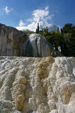 Καυτά ελατήρια Bagni SAN Filippo, Τοσκάνη, Ιταλία στοκ φωτογραφίες με δικαίωμα ελεύθερης χρήσης