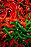 καυτά πιπέρια Στοκ Φωτογραφία