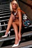 καυτά πόδια Στοκ Εικόνα