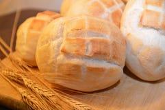 Καυτά τρόφιμα αρτοποιείων ψωμιού καφετιά Στοκ Εικόνες