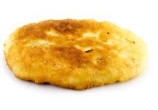 Καυτά τρόφιμα, τηγανισμένες πίτες που απομονώνονται Στοκ εικόνες με δικαίωμα ελεύθερης χρήσης