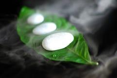 καυτές πέτρες SPA στοκ φωτογραφία με δικαίωμα ελεύθερης χρήσης