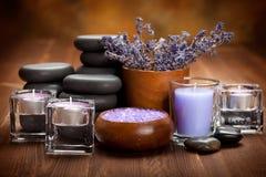καυτές minerals spa πέτρες Στοκ φωτογραφία με δικαίωμα ελεύθερης χρήσης