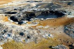 Καυτή λάσπη σε Namafjall Στοκ εικόνες με δικαίωμα ελεύθερης χρήσης
