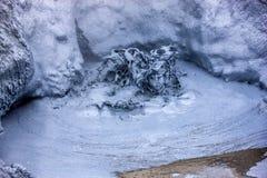 Καυτή βράζοντας λάσπη σε Iceland6 Στοκ Φωτογραφία