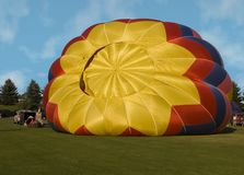 καυτή διόγκωση μπαλονιών &alp Στοκ εικόνες με δικαίωμα ελεύθερης χρήσης