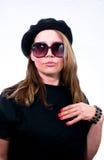καυτή θέτοντας γυναίκα Στοκ εικόνα με δικαίωμα ελεύθερης χρήσης