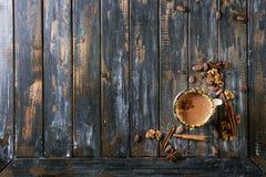 καυτή κούπα σοκολάτας Στοκ φωτογραφία με δικαίωμα ελεύθερης χρήσης