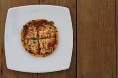 καυτή πίτσα στοκ φωτογραφία με δικαίωμα ελεύθερης χρήσης
