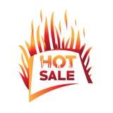 καυτή πώληση απεικόνισης Στοκ Εικόνα