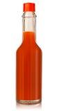 καυτή σάλτσα πιπεριών τσίλ&io Στοκ Εικόνες