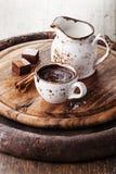 Καυτή σοκολάτα στοκ φωτογραφία με δικαίωμα ελεύθερης χρήσης