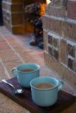 Καυτή σοκολάτα Toasty Στοκ φωτογραφία με δικαίωμα ελεύθερης χρήσης
