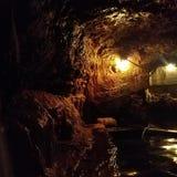 Καυτή σπηλιά ελατηρίων Στοκ εικόνες με δικαίωμα ελεύθερης χρήσης
