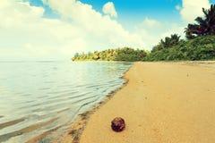 Καυτή τροπική παραλία Στοκ Φωτογραφία