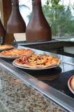 Καυτή φρέσκια πίτσα Στοκ Φωτογραφίες