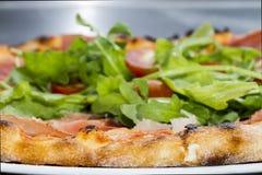 Καυτή φυτική πίτσα Στοκ φωτογραφία με δικαίωμα ελεύθερης χρήσης