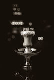 Καυτοί άνθρακες Hookah για το κάπνισμα Στοκ Εικόνες