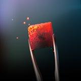 Καυτός άνθρακας Hookah ελεύθερη απεικόνιση δικαιώματος