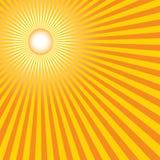 καυτός θερινός ήλιος Στοκ Φωτογραφίες