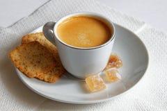 καυτός ισχυρός φλυτζανιών καφέ Στοκ εικόνα με δικαίωμα ελεύθερης χρήσης