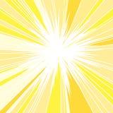 Καυτός και ακτινοβολώντας θερινός ήλιος ελεύθερη απεικόνιση δικαιώματος