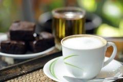Καυτός καφές Στοκ φωτογραφία με δικαίωμα ελεύθερης χρήσης