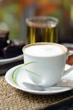 Καυτός καφές Στοκ Φωτογραφία