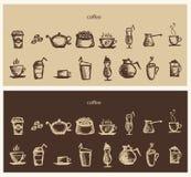 Καυτός καφές Στοκ εικόνα με δικαίωμα ελεύθερης χρήσης