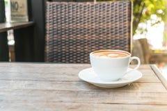 Καυτός καφές latte Στοκ Φωτογραφίες